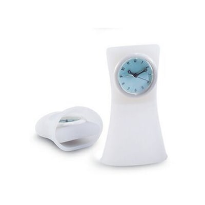Natico Originals  Silicon Tvl Alm Clock  Clear (NOI028)
