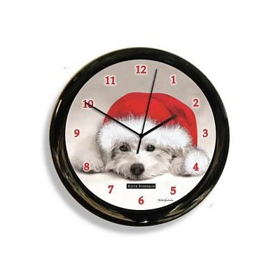 California Clock  Dog Clock - Black & White (OC0510)