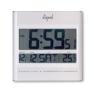 Opal Luxury Time Products  Lcd Table Clock With Foldable Stand (OPLX063)