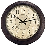 La Crosse Technology Ltd 404-2635 14 in. Plastic BRN Wall Clock (TRVAL83925)