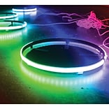 Race Sport Rsrgb15 Coloradapt™ Led Wheel Kit With Rgb Multicolor (15.5, For Use On 22-24 Wheels)