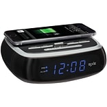 Sxe Sxe87001 Wireless Charging Alarm Clock