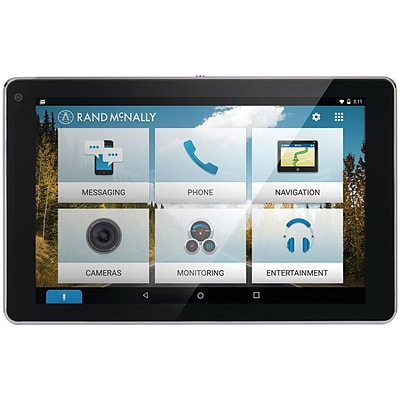 Rand McNally 0528015990 Overdryve™  7 Connected Car™  GPS Tablet With Dash Cam and Bluetooth®