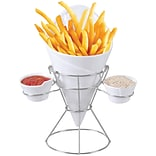 Starfrit Gourmet 080807-006-0000 French Fry and Dip Serving Dish