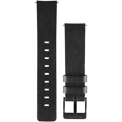 Garmin 010 12495 02 Vivomove(tm) Replacement Band (leather Band; Black)