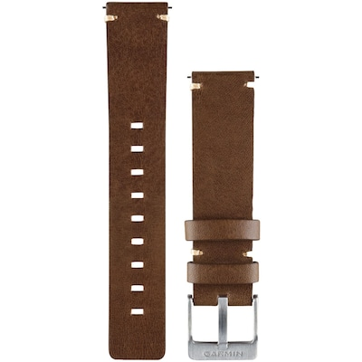 Garmin 010 12495 04 Vivomove(tm) Replacement Band (leather Band; Dark)