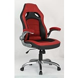 Inland ProHT High-Back Executive Chair; Red/Black