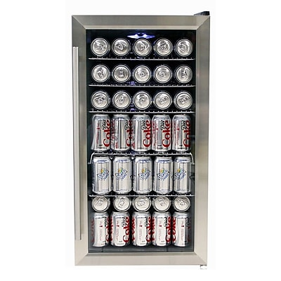 Whynter BR-125SD Freestanding 120 Can Beverage Refrigerator with Internal Fan