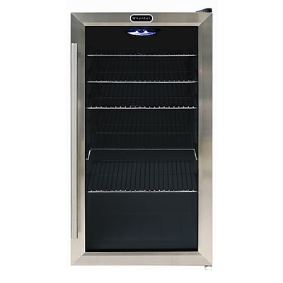 Whynter BR-130SB Freestanding 120 Can Beverage Refridgerator with internal fan