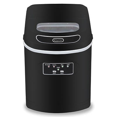 Whynter Compact Portable Ice Maker 27 lb capacity - Black (IMC-270MB)