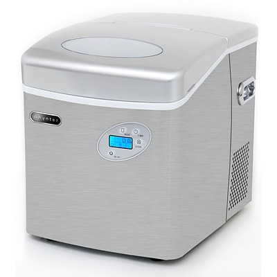 Whynter Portable Ice Maker with Direct Water Connection 49 lb Capacity Stainless Steel (IMC-491DC)