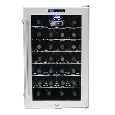 Whynter SNO Wine Cooler, Silver (WC-28S)
