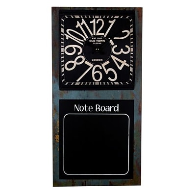 DecorFreak Chalk Board And Clock Duo (DCFRK059)