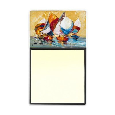 Carolines Treasures  Boat Race Sticky Note Holder (CRLT69050)