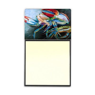Carolines Treasures  Blue Crab Sticky Note Holder (CRLT69215)