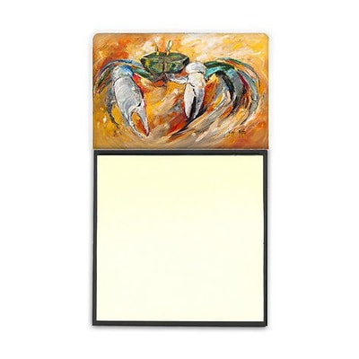 Carolines Treasures  Blue Crab Sticky Note Holder (CRLT69223)