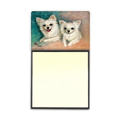 Carolines Treasures  Chihuahua The Siblings Sticky Note Holder (CRLT79231)