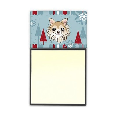 Carolines Treasures  Winter Holiday Chihuahua Sticky Note Holder (CRLT84779)