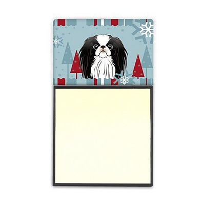 Carolines Treasures  Winter Holiday Japanese Chin Sticky Note Holder (CRLT84956)