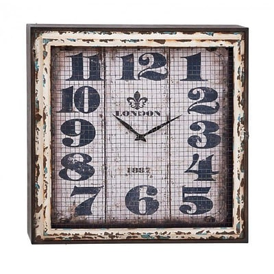 A Nation  Metal Wall Clock, 24 x 24 in. (UMET704)