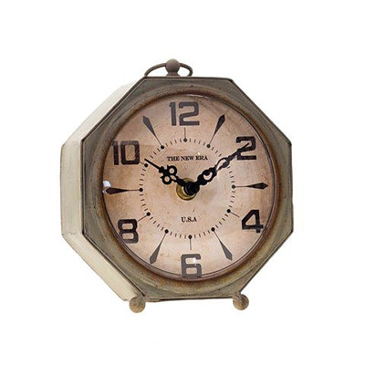VIP Home & Garden  Vintage Table Clock  (VIPN053)