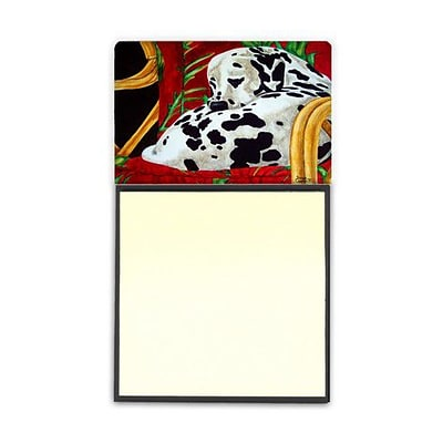 Carolines Treasures  Sunday Nap Dalmatian Sticky Note Holder (CRLT87832)