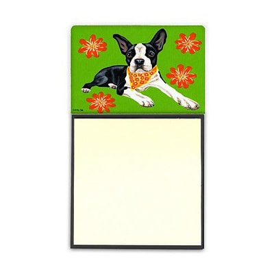 Carolines Treasures  Cosmo Cutie Boston Terrier Sticky Note Holder (CRLT88183)