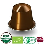 FUERTE®, Nespresso®-Compatible Coffee Capsule, Organic Arabica Coffee, Escura, (20/pack)