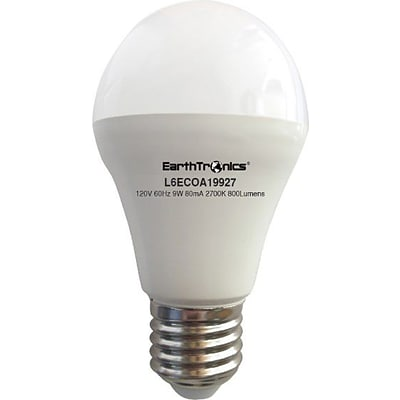 EarthBulb® A19 9.5W 800LM 2700K Eco 12 Pack