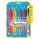 Paper Mate® InkJoy 100 RT Retractable Ballpoint Pen, Medium Point, Assorted Ink Colors, 20/pk (18793