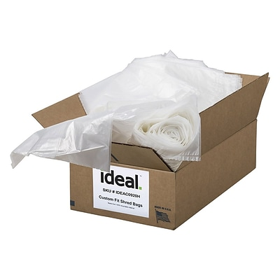 IDEAL Shredder Bags 33.5 x 47.5 100 Count Flat Pack (IDEAC0920H)