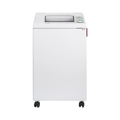 IDEAL 3104 Centralized Office Shredder 25-Sheet Capacity Cross-Cut (IDEDSH0315H)