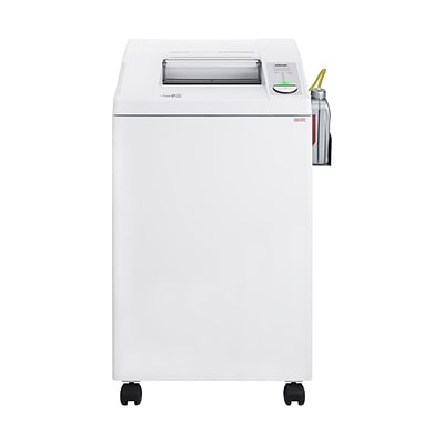 IDEAL 2604 Centralized Office Shredder 25-Sheet Capacity Cross-Cut with Oiler (IDEDSH0362OH)