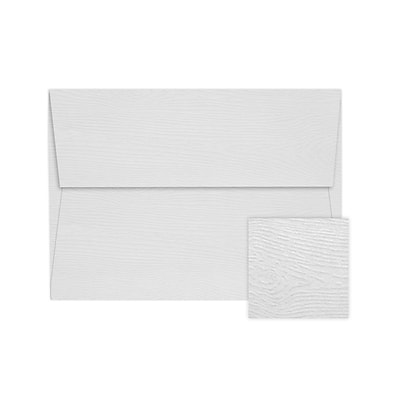 LUX A2 Invitation Envelopes (A2) - White Birch Woodgrain - Pack of 500 (2445287)