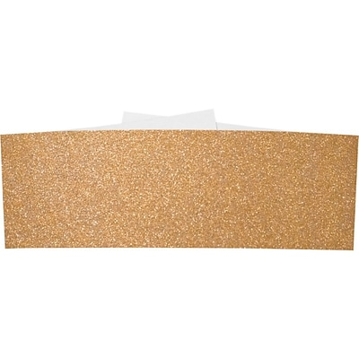 LUX A7 Belly Bands (A7) - Rose Gold Sparkle - Pack of 50 (2445267)