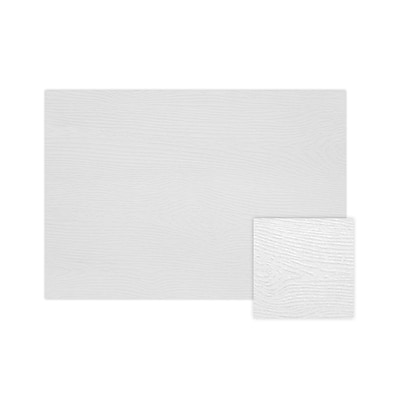 LUX A2 Flat Card  (4 1/4 x 5 1/2)  - White Birch Woodgrain - Pack of 500 (2445301)
