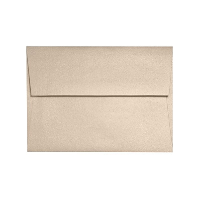 LUX A6 Invitation Envelopes (4 3/4 x 6 1/4) - Taupe Metallic - Pack of 1000 (2445270)