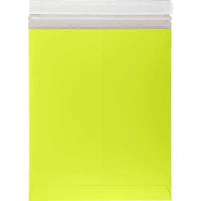 LUX 6 x 9 Colored Paperboard Mailers 1000/Box, Electric Green (69PBM-G-1000)