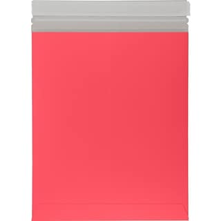LUX 6 x 9 Colored Paperboard Mailers 250/Box, Holiday Red (69PBM-HR-250)