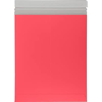 LUX 11 x 13 1/2 Colored Paperboard Mailers 500/Box, Holiday Red (1113PBM-HR-500)