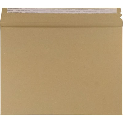 LUX Mailers (9 1/2 x 12 1/2) 1000/Box, Grocery Bag (LUXMLR-GB-1000)