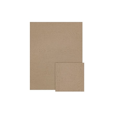 LUX 8 1/2 x 11 Cardstock (8 1/2 x 11)  - Oak Woodgrain - Pack of 50 (2445080)