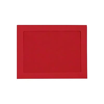 LUX 10 x 13 Full Face Window Envelopes (10 x 13) - Ruby Red - Pack of 1000 (2444811)