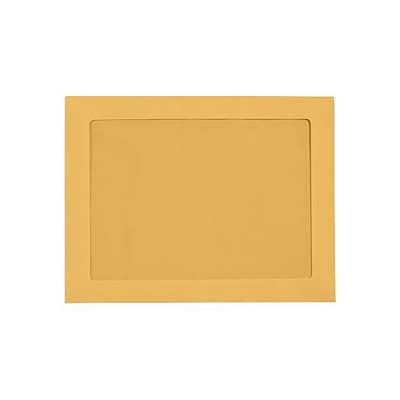 LUX 9 x 12 Full Face Window Envelopes (9 x 12) - Brown Kraft - Pack of 250 (2444757)