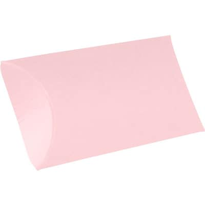 LUX Medium Pillow Boxes (2 1/2 x 7/8 x 4) - Candy Pink - Pack of 250 (2444909)