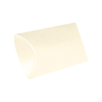 LUX Small Pillow Boxes  (2 x 3/4 x 3)  - Champagne Metallic - Pack of 500 (2444891)