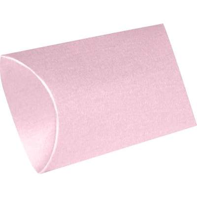 LUX Medium Pillow Boxes (2 1/2 x 7/8 x 4) - Rose Quartz Metallic - Pack of 50 (2444838)