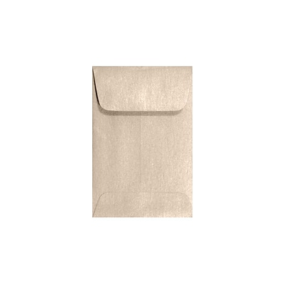 LUX #1 Coin Envelopes (2 1/4 x 3 1/2) 50/Box, Taupe Metallic (1CO-M09-50)
