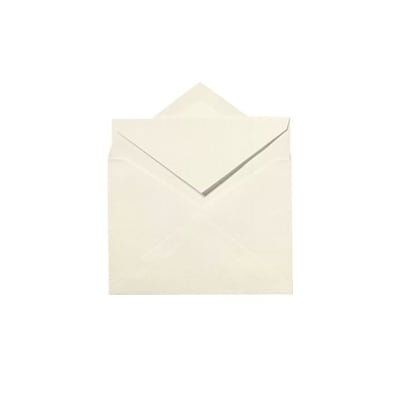 LUX Windsor Inner Envelopes (No Glue) 500/Box, Natural White - 100% Cotton (WININNER-SN-500)