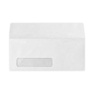 LUX #10 Window Envelopes (4 1/8 x 9 1/2) 50/Box, 80lb. White